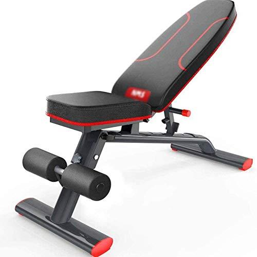 GYPPG Banc de Musculation réglable Banc d'haltères Multi-Usage...