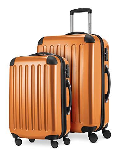 Hauptstadtkoffer Set di valigie, 65 cm, 116 L, Arancione