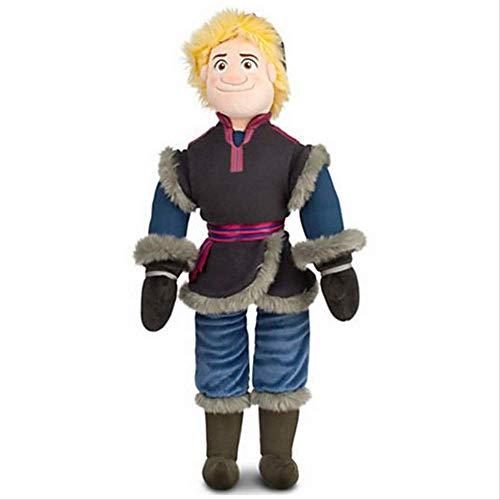 Ylout Plüsch Puppe Spielzeug Schneekönigin 50 cm Prinzessin ELSA Anna Kristoff Plüschtier Weiche Stofftiere Brinquedos Für Kinder Mädchen Geschenk