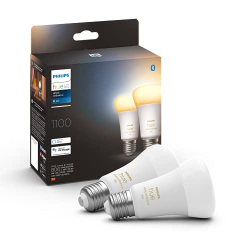 Philips Hue White Ambiance E27 Doppelpack 2x800lm 75W
