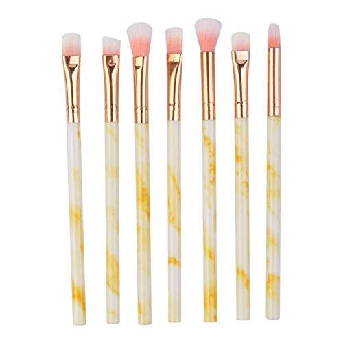 GONGFF Pinceaux de Maquillage 7PC Make Up Brushes Ensembles Multifonctionnel Concealer Eyeshadow Foundation Foundation Brush Set