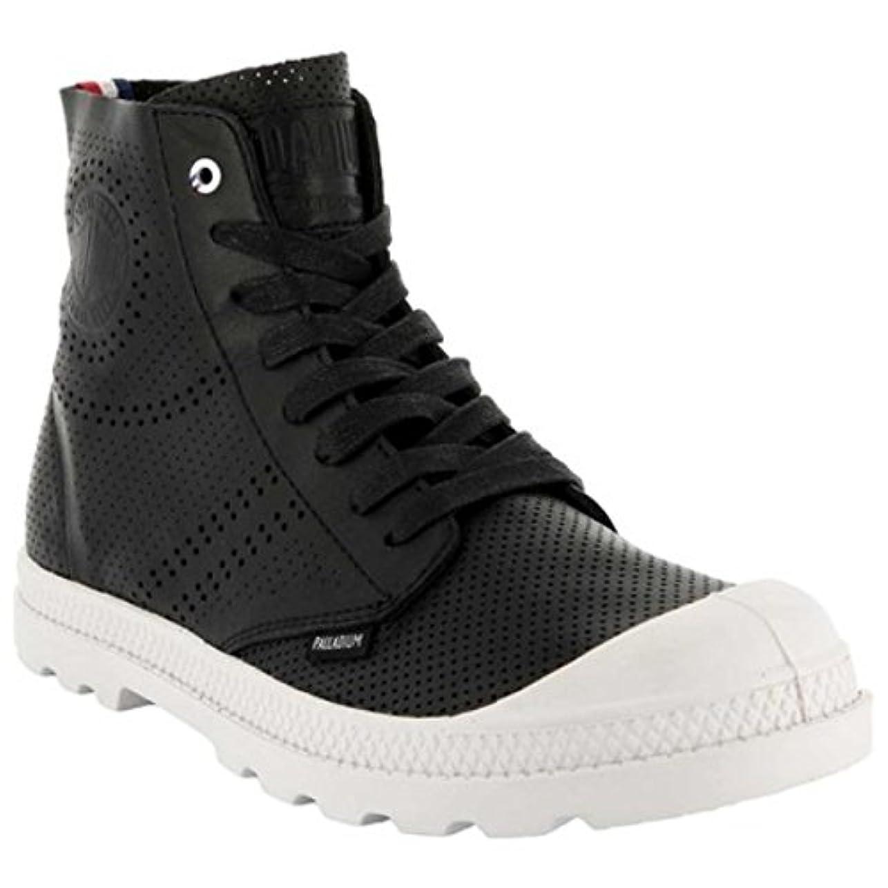 故障折クライストチャーチ(パラディウム) Palladium レディース シューズ?靴 ブーツ Pampa Mid LP Perforated Boot [並行輸入品]