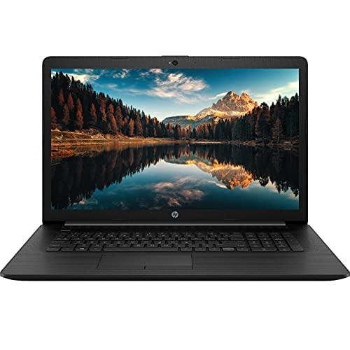 "2021 Newest HP 17T Laptop, 17.3"" HD+ Non-touch Display, 11th Gen Intel Core i7-1165G7 Quad-Core Processor, 16GB RAM, 256GB SSD + 1TB HDD, DVD, Webcam, HDMI, Wi-Fi, Windows 10 Home, KKE Mousepad, Black"