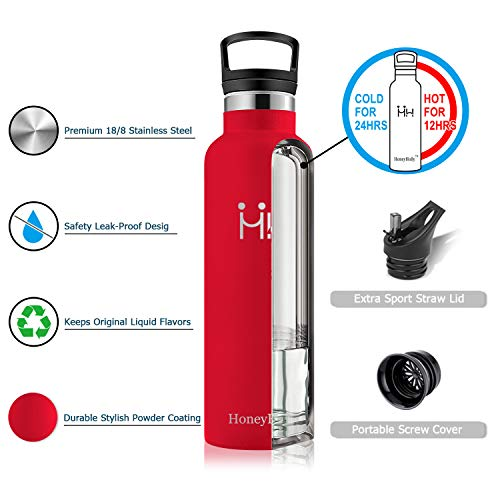 HoneyHolly HH-ZKB 350ML Red 1795C