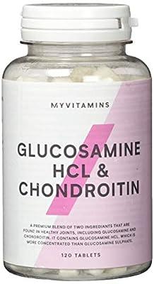 Myprotein Glucosamine HCL-und Chondroitin 900 mg- 120 Tabletten, 1er Pack (1 x 108 g)