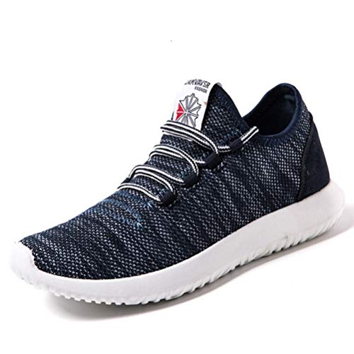 Herren Frühling Schuhe Mesh Komfortable Light Lace Up Lässige Sportschuhe Outdoor Fitness Jogging Walking Sneakers