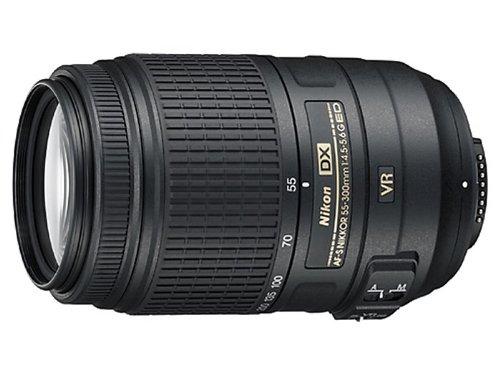 Nikon AF-S DX Nikkor 55-300mm f/4.5-5.6G ED VR Telephoto lens Negro - Objetivo (17/11,...