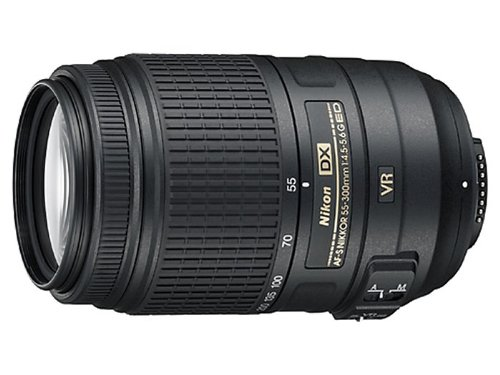 Nikon AF-S DX Nikkor 55-300mm f/4.5-5.6G ED VR Telephoto lens Negro - Objetivo (17/11, Telephoto lens, 1,4 m, 4,5 - 22, Automático/Manual, 55 - 300 mm)
