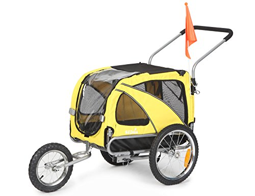 Sepnine 2 in 1 Medium Dog Bike Trailer