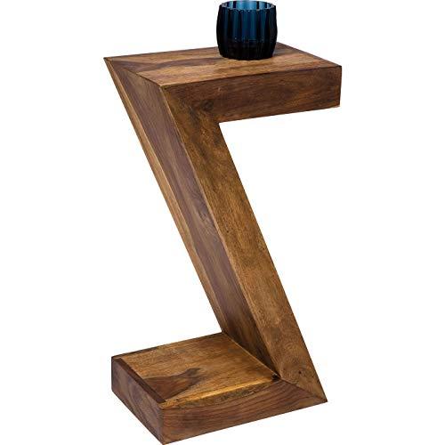 Kare Design Beistelltisch Authentico Z, Nachttisch, Braun (H/B/T) 55x30x20cm