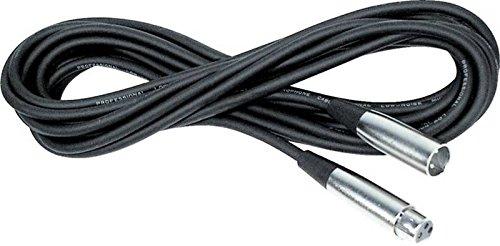 DMX-lichtkabel. 1,5 m zwart