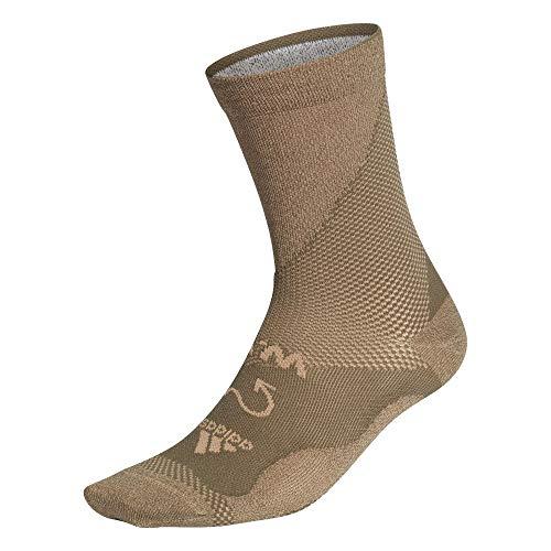 adidas Hombre Ww Run Socks Calcetines Hombre Verde, S