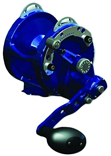 Avet 2-Speed H5.4:1,L2.4:1 Lever Drag Reel, Blue -  Falcon Rods, HX5/2B