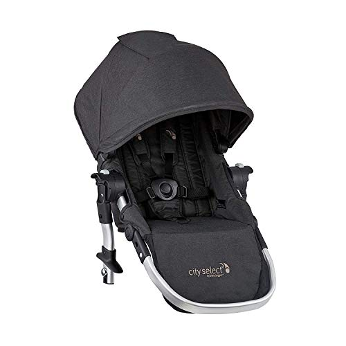 Baby Jogger City Select Baby Stroller Second Seat Kit with Adapters & UV 50 Sun Canopy   Second Baby Seat Converts Single Stroller to Double Stroller, Jet
