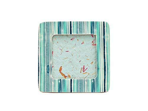 5 Elements Tisch Bilderrahmen 4x4 / 10x10, Wohnkultur, Büro- und Raumdekoration, Fotorahmen für Schreibtisch und Wanddisplay, Einweihungsgeschenk.Handgefertigt mit Harz-CABANA