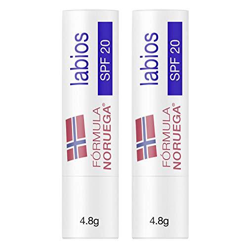 Neutrogena Protector Labial Fórmula Noruega SPF 20, Pack 2 x