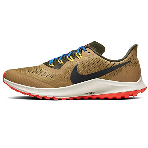 Nike Air Zoom Pegasus 36 Trail Men's Trail Running Shoe BEECHTREE/Off Noir-Cargo Khaki Size 11.5