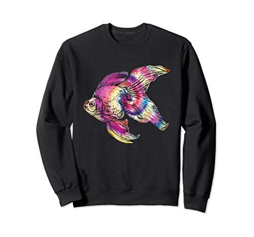 Regenbogenfisch Haustier Fische Schuppen Beta Goldfisch Sweatshirt