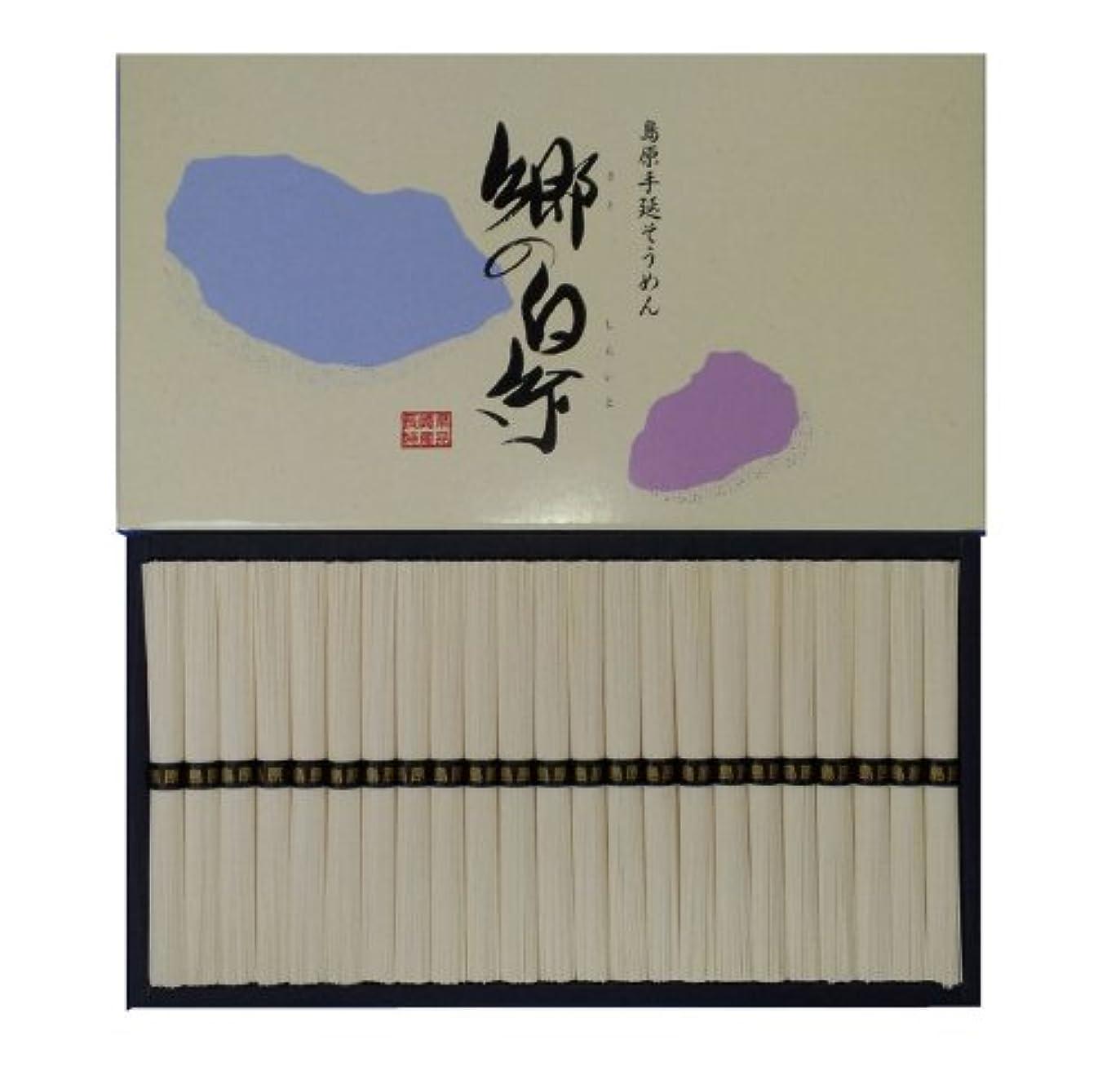 治療充電対称島原手延素麺 郷の白糸 2300g (50g×46束)