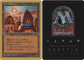 Magic The Gathering - City of Brass - World Championship Deck Singles