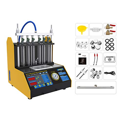 AUTOOL Ultrasonic Wave Fuel Injector Cleaner and Tester Automotive Fuel Injection Systems Cleaning...