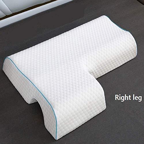 Almohada de memoria para pareja, núcleo de almohada antiestrés para el brazo, algodón tejido con memoria de alta resistencia, abrazo de pareja, antideslizante, a prueba de hombros (Brazo derecho)