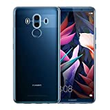 NEW'C Coque Huawei Mate 10 Pro, Coque de Protection avec Absorption de Choc et Anti-Scratch [ULTRAT RANSPARENTE Silicone en Gel...