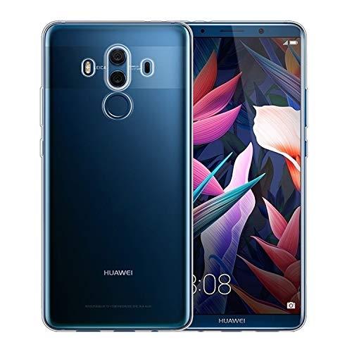 NEW'C Funda para Huawei Mate 10 Pro, Anti- Choques y Anti- Arañazos, Silicona TPU, HD Clara