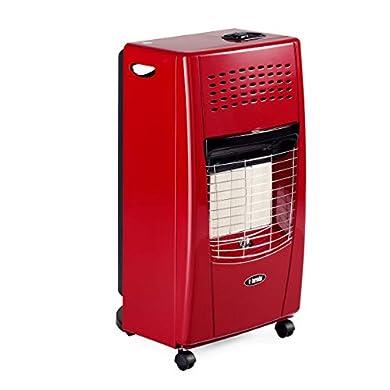 Foto di Bartolini IB203IT Stufa a Gas, 4200 W, Rosso