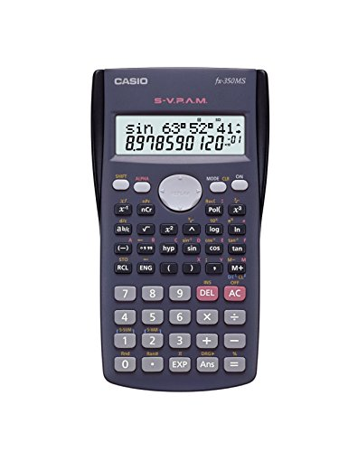 Casio FX-350MS 2-Line Display Scientific Calculator with 240 Functions