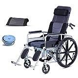 CHHD Transport Wheelchair - Traditional Folding,...