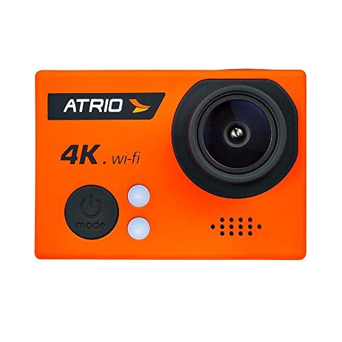 Atrio DC185 - Câmera de Ação FullSport Cam 4K Wi-fi com Controle Remoto, Laranja