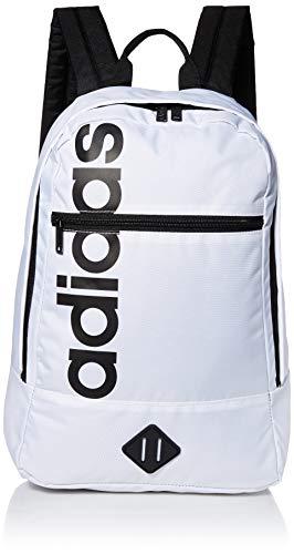 adidas Unisex Court Lite Backpack, White/Black, ONE SIZE