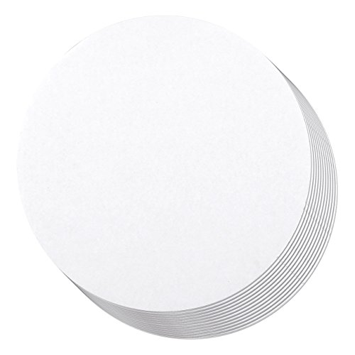 Cake Boards - 12-Piece Cardboard Round Cake Circle Base, 14 Inches Diameter, White