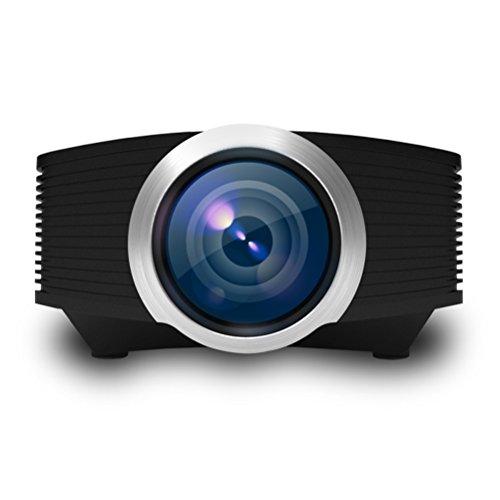 LED-Videoprojektor Unterstützung 800 * 480 Auflösung Unterstützung Full HD 1080P Portable Mini-Multimedia-Projektor