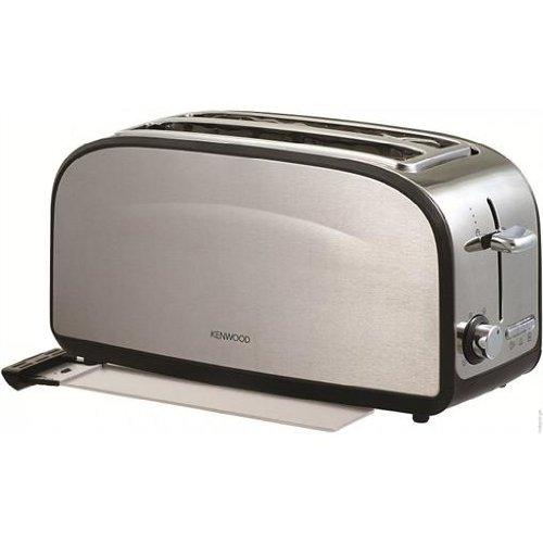 Kenwood TTM235 4 Scheiben Toaster Edelstahl 1500W