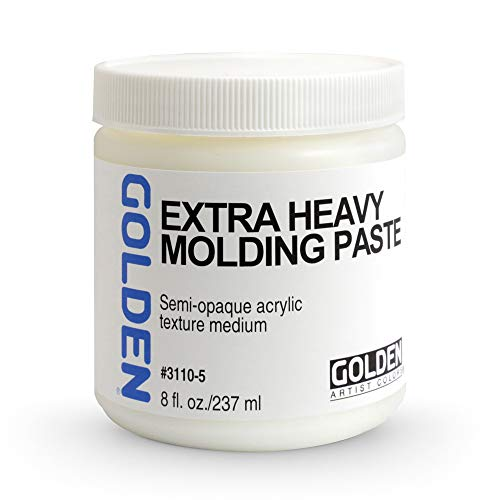 Acrylic Medium Golden Extra Heavy Gel/Molding Paste 8 oz