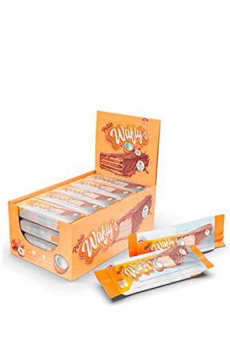 MTX nutrition WAFLY´S [18 unds. / 35g.] Coco - Barritas Proteicas de barquillo. Extra de proteínas cuando y como quieras, para esas personas preocupadas por su estilo de vida y buenos hábitos.
