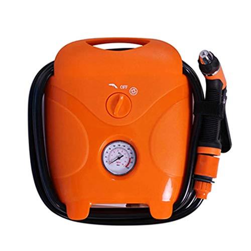 Draagbare reinigingsmachine, waspomp voor auto, volledige bediening, buitenpomp voor tuin, elektrisch, 12 V/220 V, 60 W, 80 bar, auto en huis