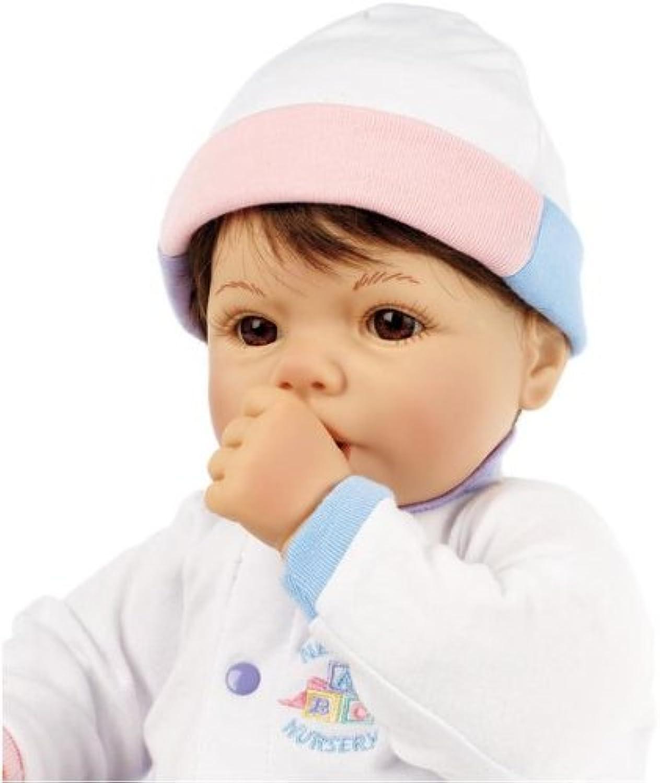 Newborn Nursery Cuddle Me braun Hair, braun Eyes B004ANFA8A Sehen Sie die Welt aus der Perspektive des Kindes  | Queensland