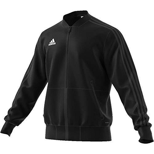 adidas Herren CON18 PRE JKT Sport Jacket, Black/White, M