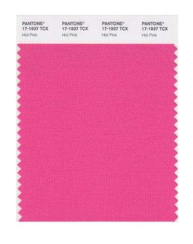 PANTONE Smart 17–1937X Farbmuster-Karte, Hot Pink