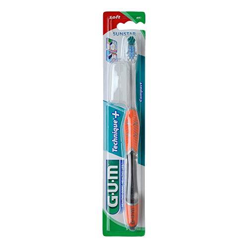 GUM Technique kompakt Zahnbürste soft 1 St