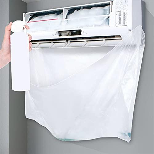 LUBINGT Aire Acondicionado desechable Cubiertas de Limpieza Bolsa Impermeable Aire Acondicionado Limpieza Protección de Polvo Limpieza de Limpieza Bolsas Herramientas
