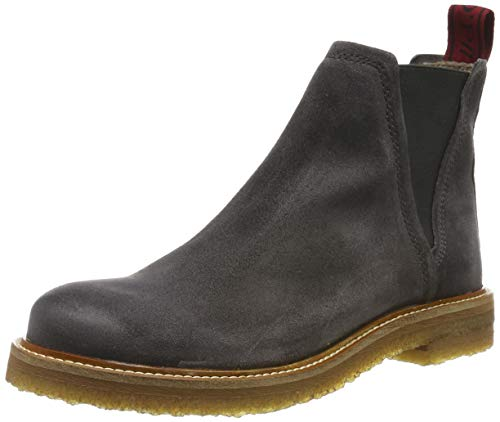 Marc O'Polo Damen 90815375001300 Stiefeletten, Grau (Dark Grey 930), 37 EU