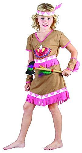 Costume indiana bambina 10 a 12 anni (L)