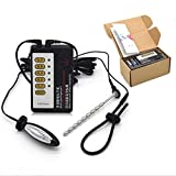 ZST-DM Electro Shock Dilatador Uretral Anillo De Pene/Estimulador De Anillo De Pene E-Stim Corriente Eléctrica Plug...