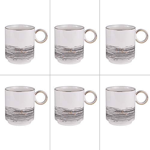 Table Passion - set de 6 mugs 38 cl comète