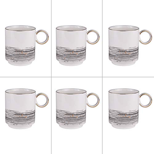 Table Passion - set de 6 mugs 38 cl comète