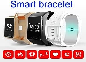 Smart Sports Watch Bluetooth Talk Watch Sleep Heart Rate Monitor Smart Bracelet for DHL (gold)